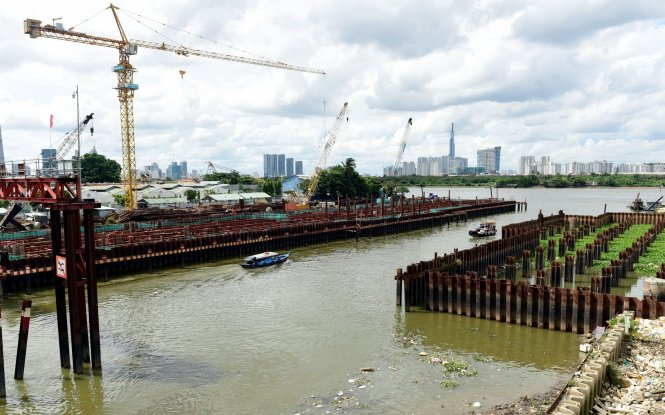 Ho Chi Minh City's $430mn anti-flooding project delayed partly over switch of steel use