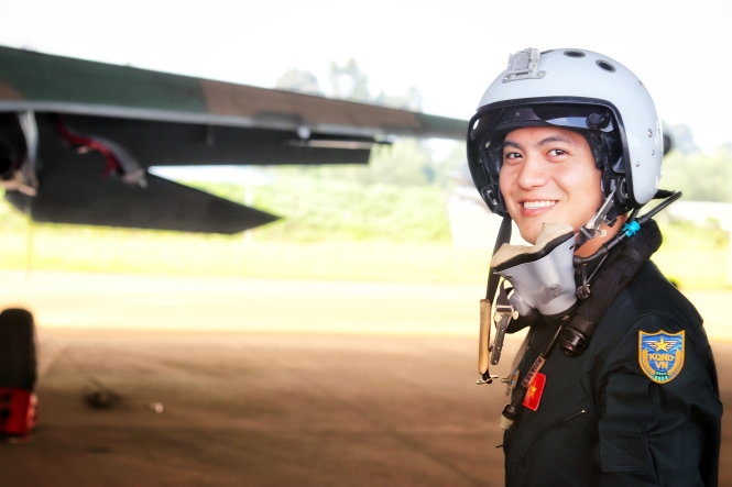 ​26-year-old pilot on Vietnam's most advanced strike aircraft