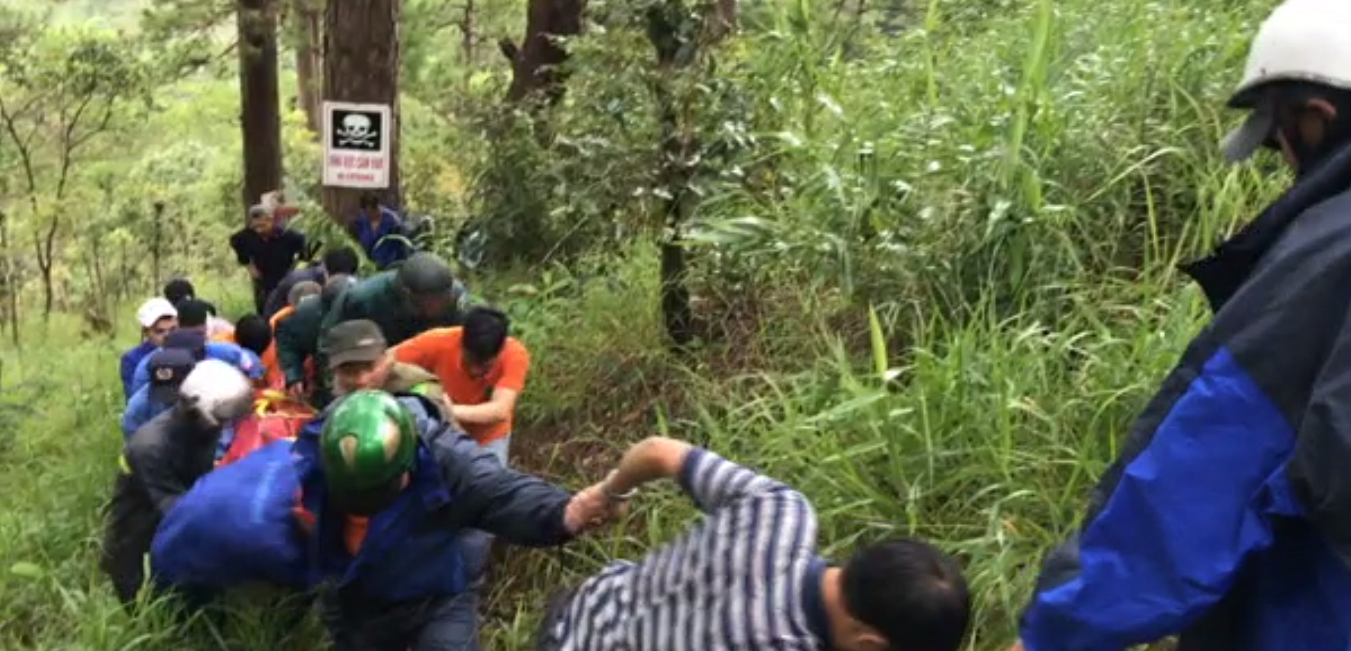 S. Korean dies after jumping from waterfall in Da Lat