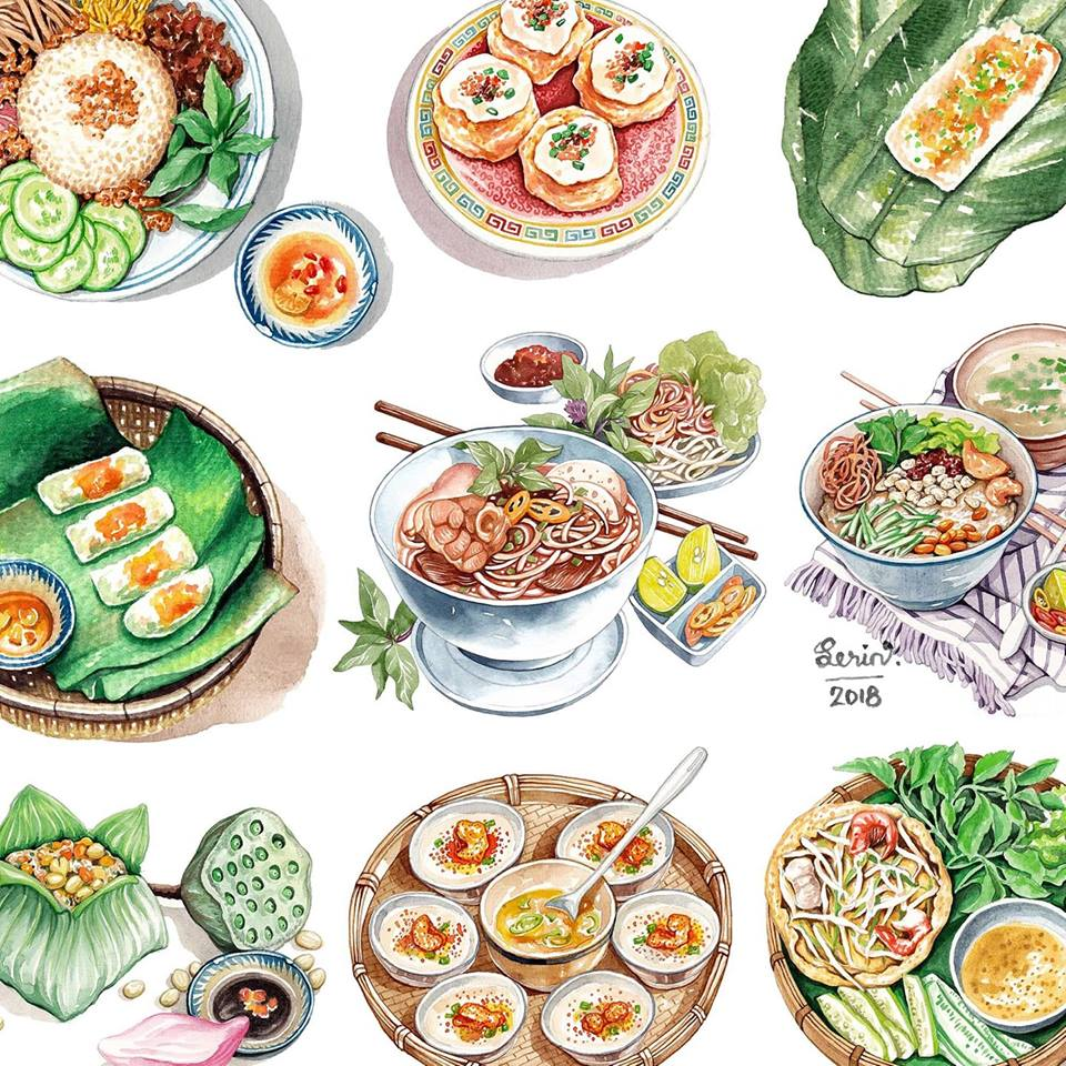 Young Vietnamese artist 'cooks' with colored pens