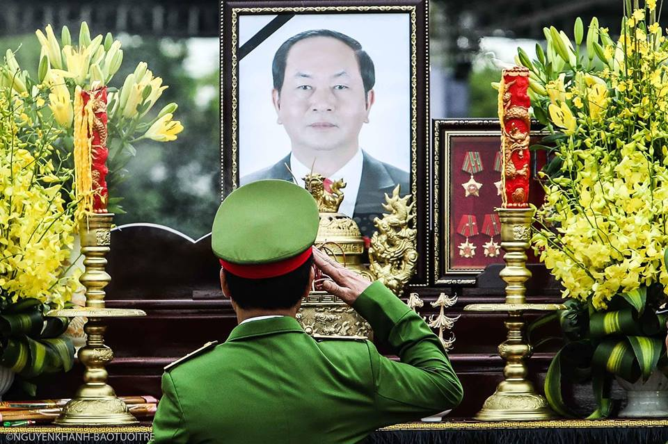 ​President Tran Dai Quang laid to rest in hometown in northern Vietnam