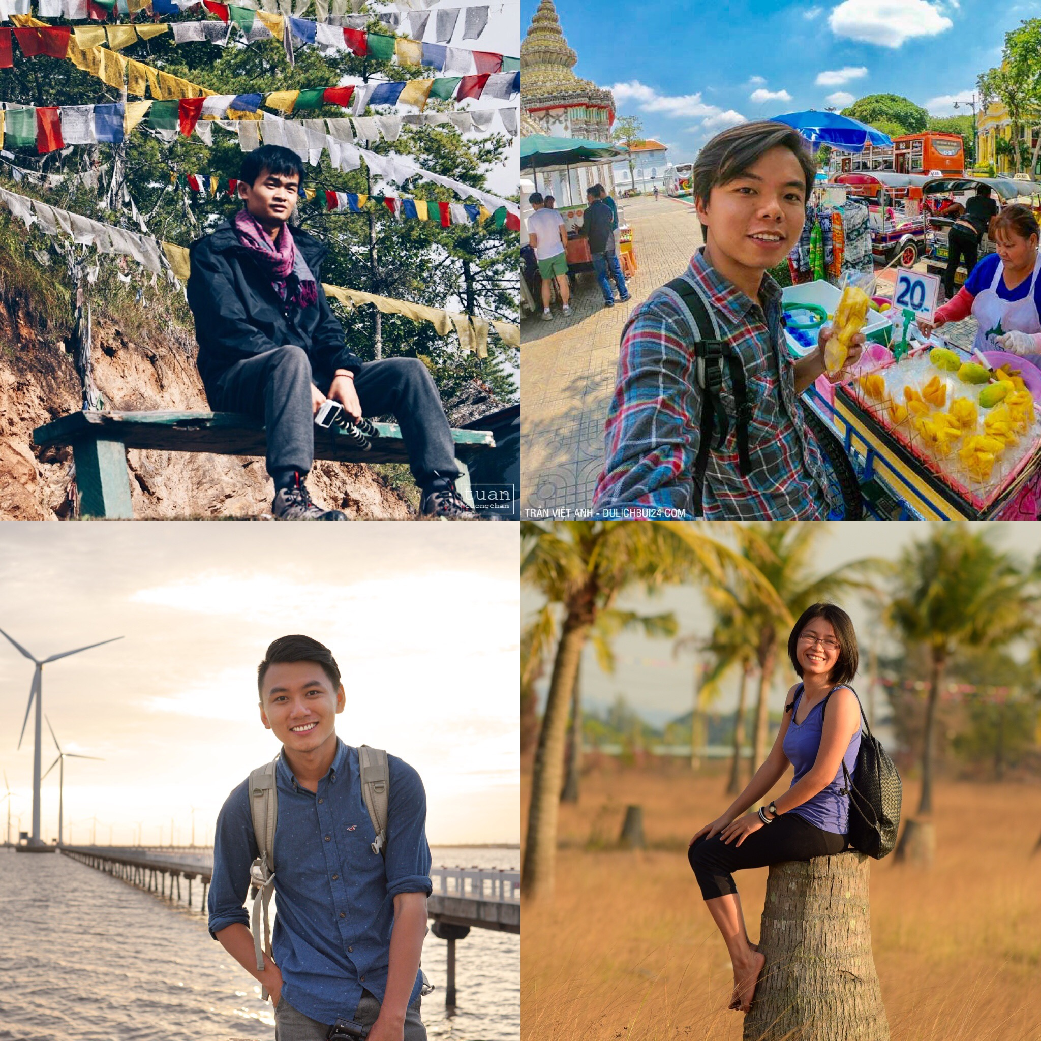 Vietnamese travel bloggers say their journeys are no bed of roses