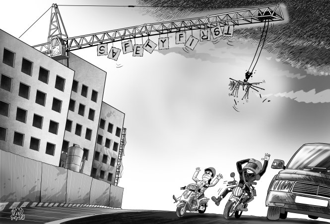 Death from above: poor construction site safety costs lives in Vietnam