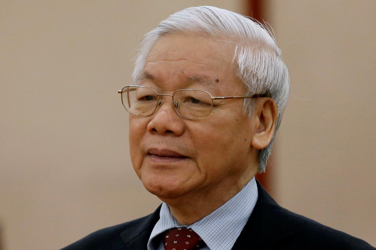 Vietnam nominates party chief as new president