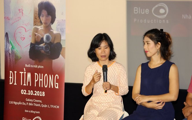 Vietnamese transgender shares emotion watching prize-winning documentary about his never-ending struggle