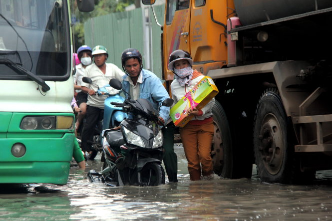 ​Ho Chi Minh City braces for inundation as tide to peak this week
