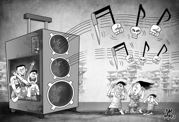​Residents, authorities helpless against karaoke noise in Vietnam