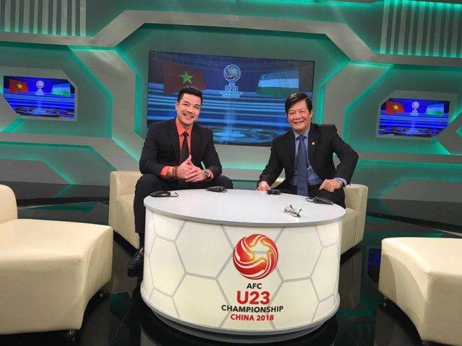​Former Vietnamese footballers start new career as TV commentator
