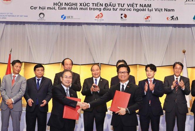 Vietnamese PM wraps up Japan trip