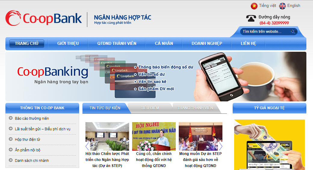 Website of Vietnam's Co-opBank hit by hack, $100,000 ransom