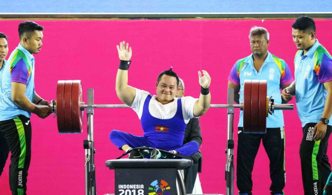 Former lottery ticket seller clinches gold at 2018 Asian Para Games