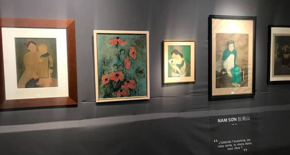 Vietnamese artist's painting sets self record of €440,000 at Paris auction