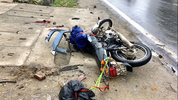 Two foreigners killed following head-on crash between truck and motorbike in Vietnam