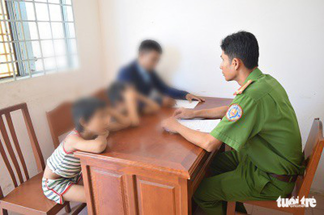 In Vietnam, child thieves found stealing property for 25 times