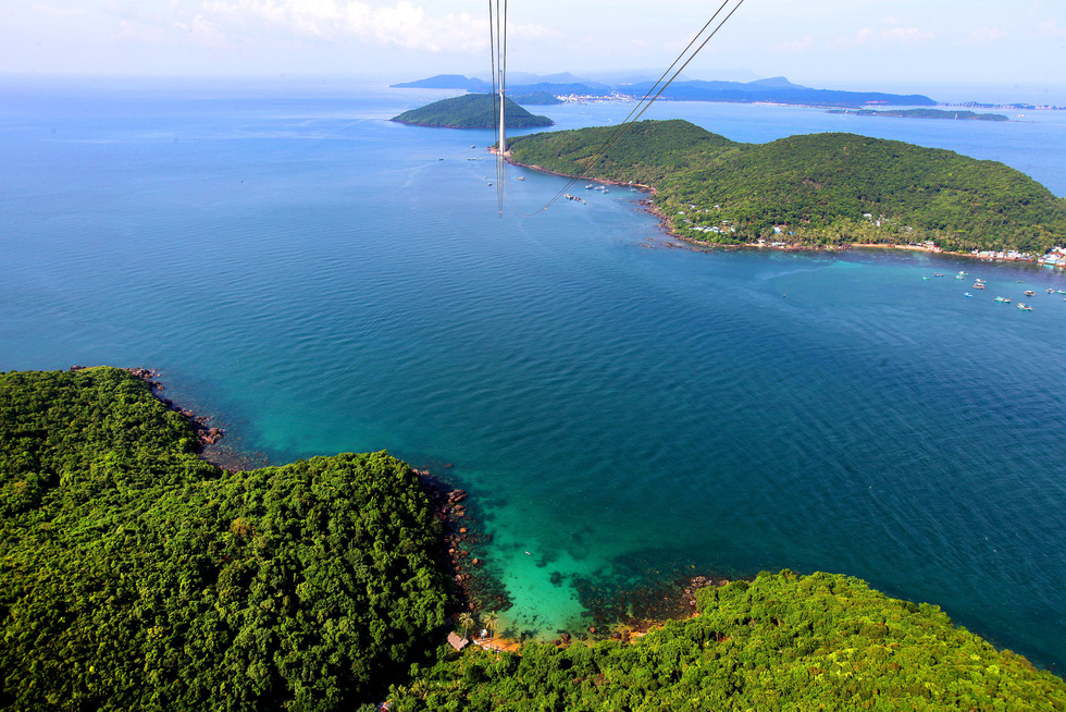 The Hon Thom Cable Car in Kien Giang Province, southern Vietnam. Photo: Tuoi Tre