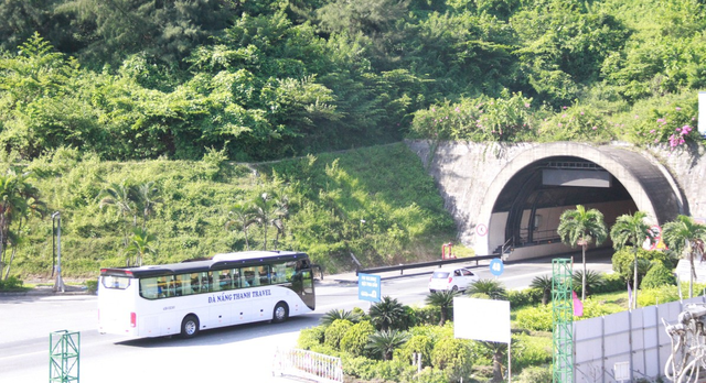 The Hai Van Tunnel connecting the central city of Da Nang and north-central Thua Thien- Hue Province. Photo: Tuoi Tre