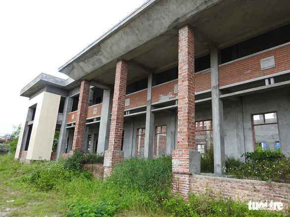 Limbo hangs over authorities failing to complete public building in northern Vietnam