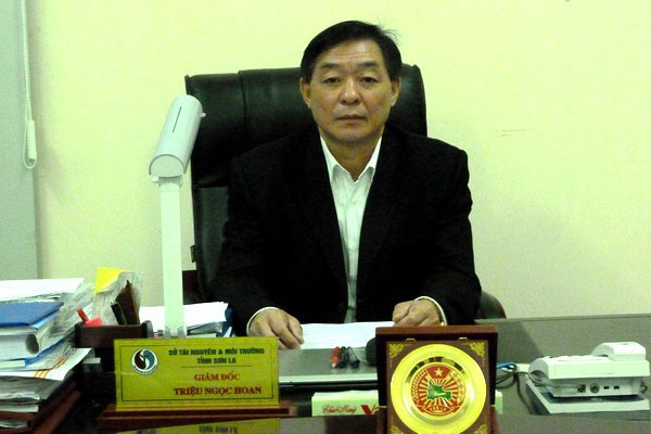 Trieu Ngoc Hoan, director of the Department of Natural Resources and Environment of Son La Province, northern Vietnam. Photo: Tuoi Tre