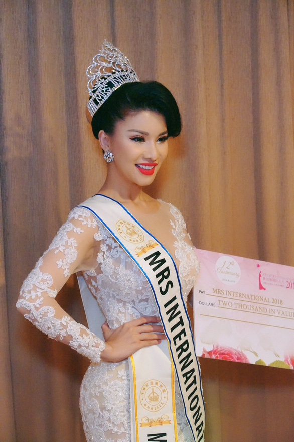 Mrs International 2018 Loan Vuong