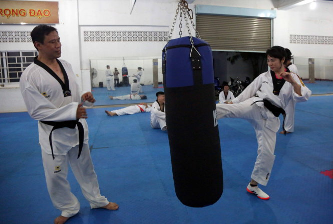 A taekwondo club for busy Vietnamese