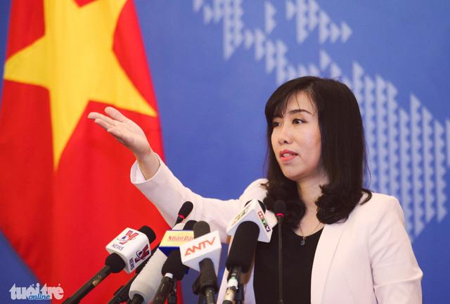 Hanoi opposes Beijing's observatory operation in Vietnam's Truong Sa (Spratlys)