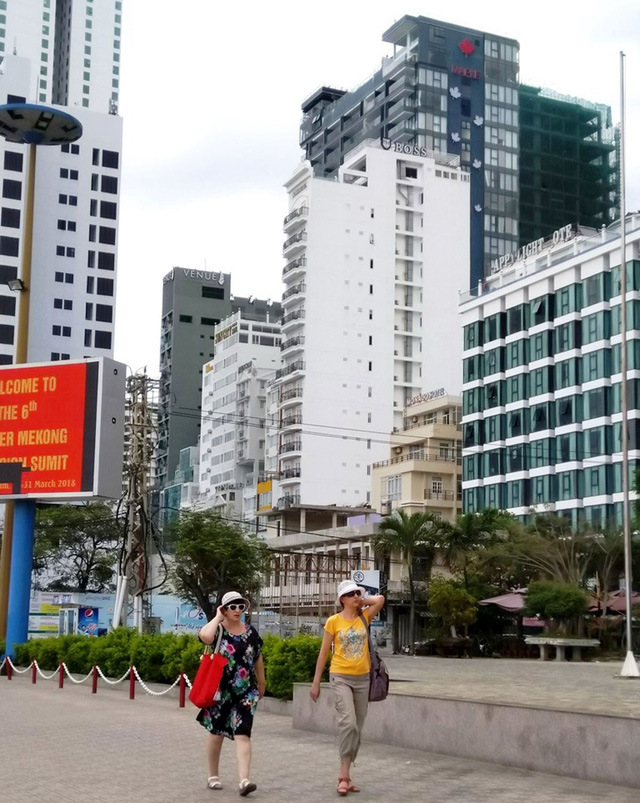 Nha Trang wants to end high-rise hotel construction