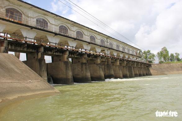 The An Trach dam in Da Nang City. Photo: Tuoi Tre