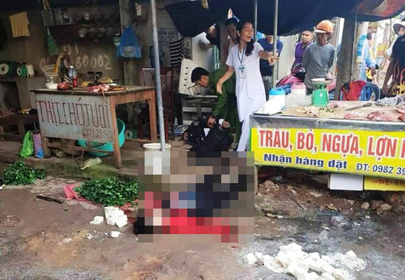 Woman shot, stabbed to death while selling tofu at market in northern Vietnam