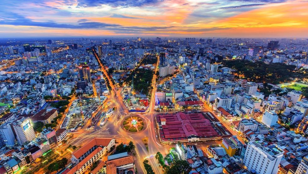 Vietnamese photographer captures stunning aerial photos of Saigon