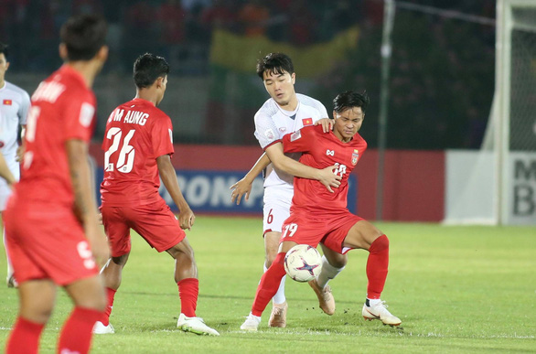 Vietnam remainunbeaten after goalless draw against Myanmar at 2018 AFF Championship