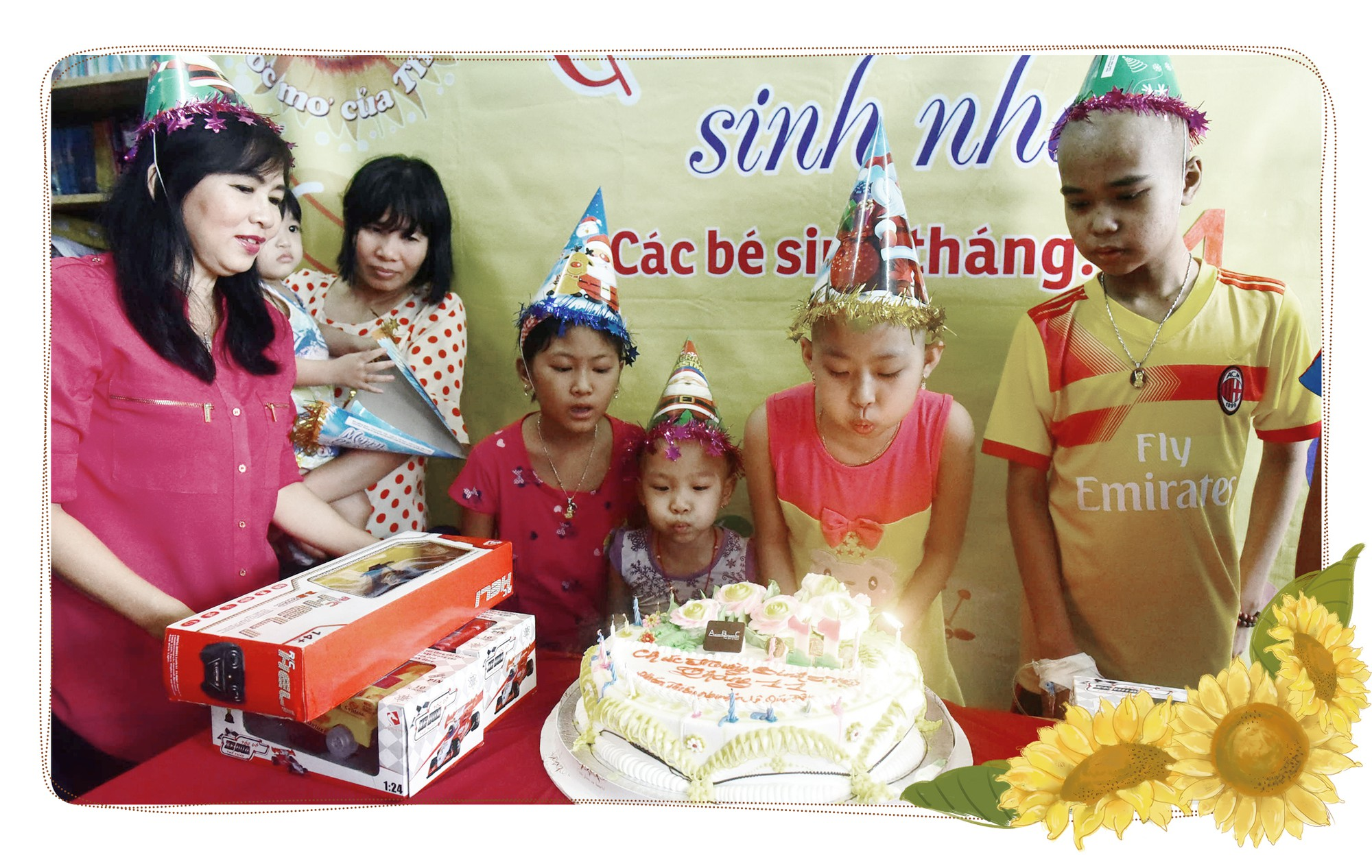 Meet those caring wholeheartedly for cancer-stricken children in Ho Chi Minh City