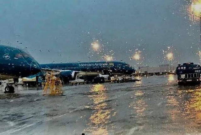 Photos of 'flooded' airport in Ho Chi Minh City fabricated: authority