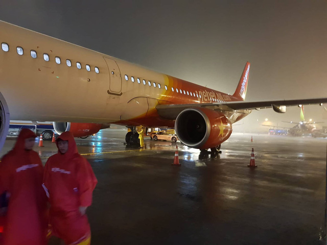 A photo taken at the Tan Son Nhat International Airport in Ho Chi Minh City on November 26, 2018. Photo: Tuoi Tre