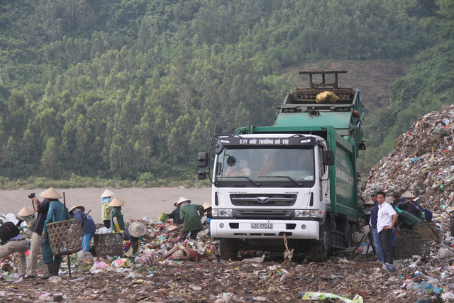 The Khanh Son Landfill in Da Nang City. Photo: Tuoi Tre