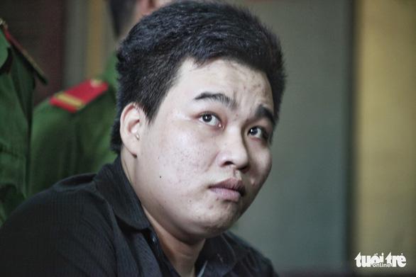 Nguyen Hoang Chau Phu at the trial. Photo: Tuoi Tre