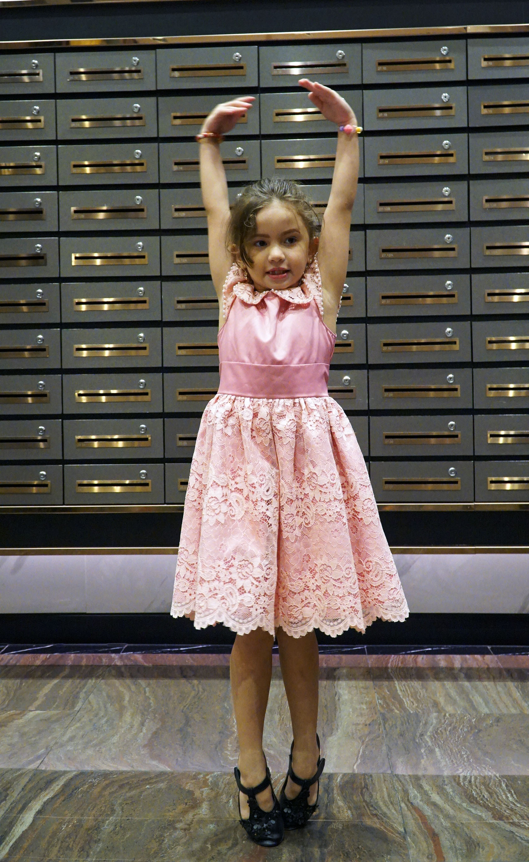 Swar shared she loves learning ballet. Photo: Duyen Phan/ Tuoi Tre