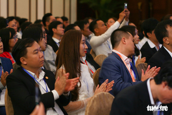 Participants at the forum. Photo: Tuoi Tre