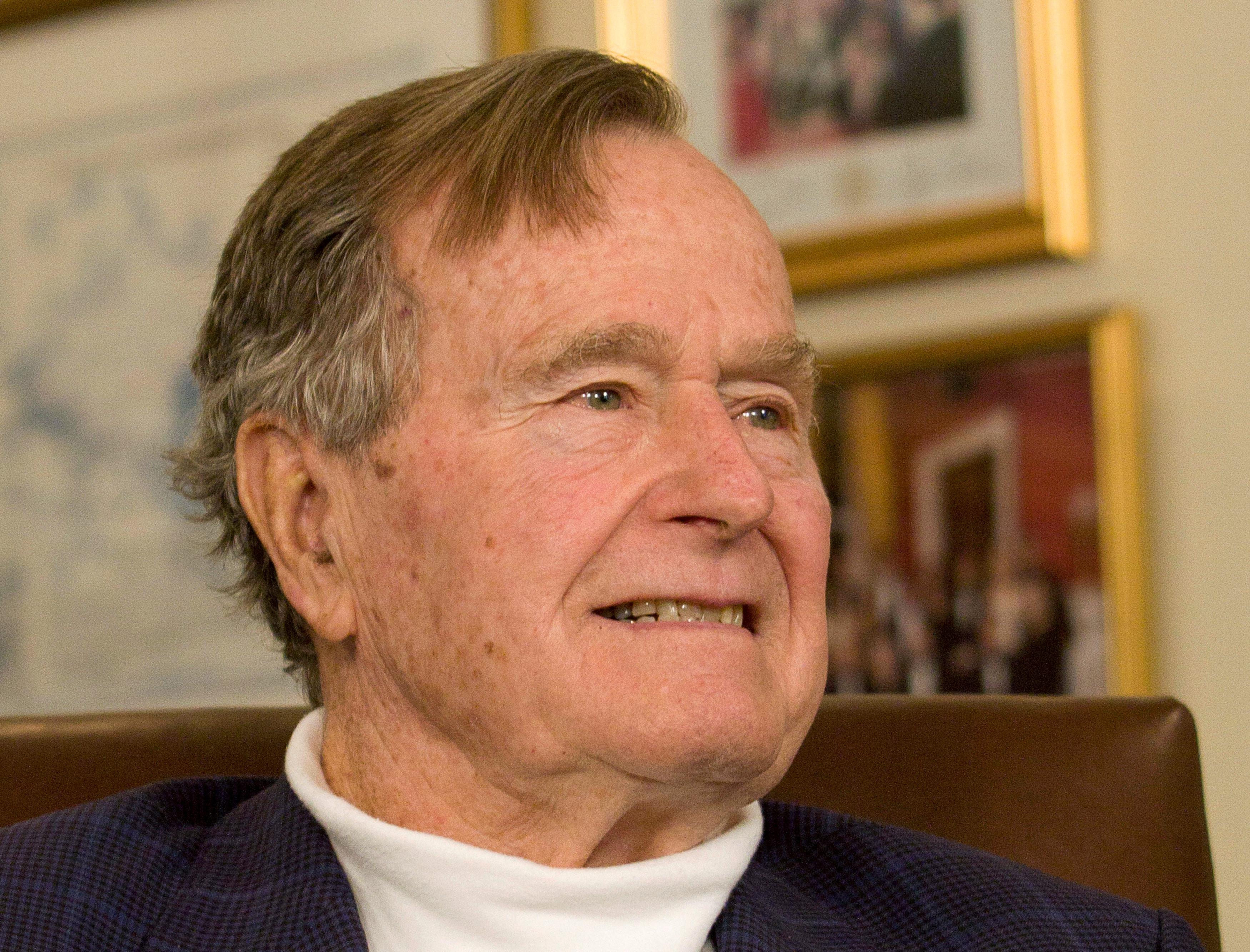 Former U.S. President George H.W. Bush dead at 94