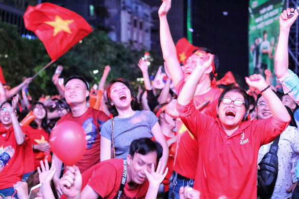 Vietnam on track to extend unbeaten run in world football to 15