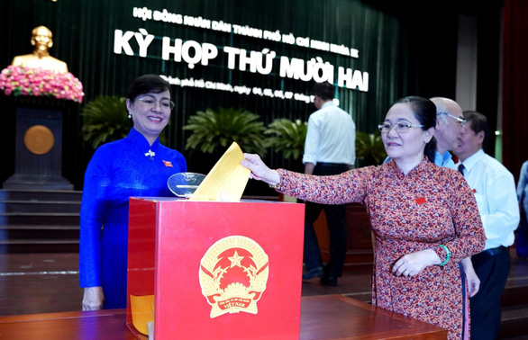 Ho Chi Minh City holds vote of confidence for 30 high-ranking officials