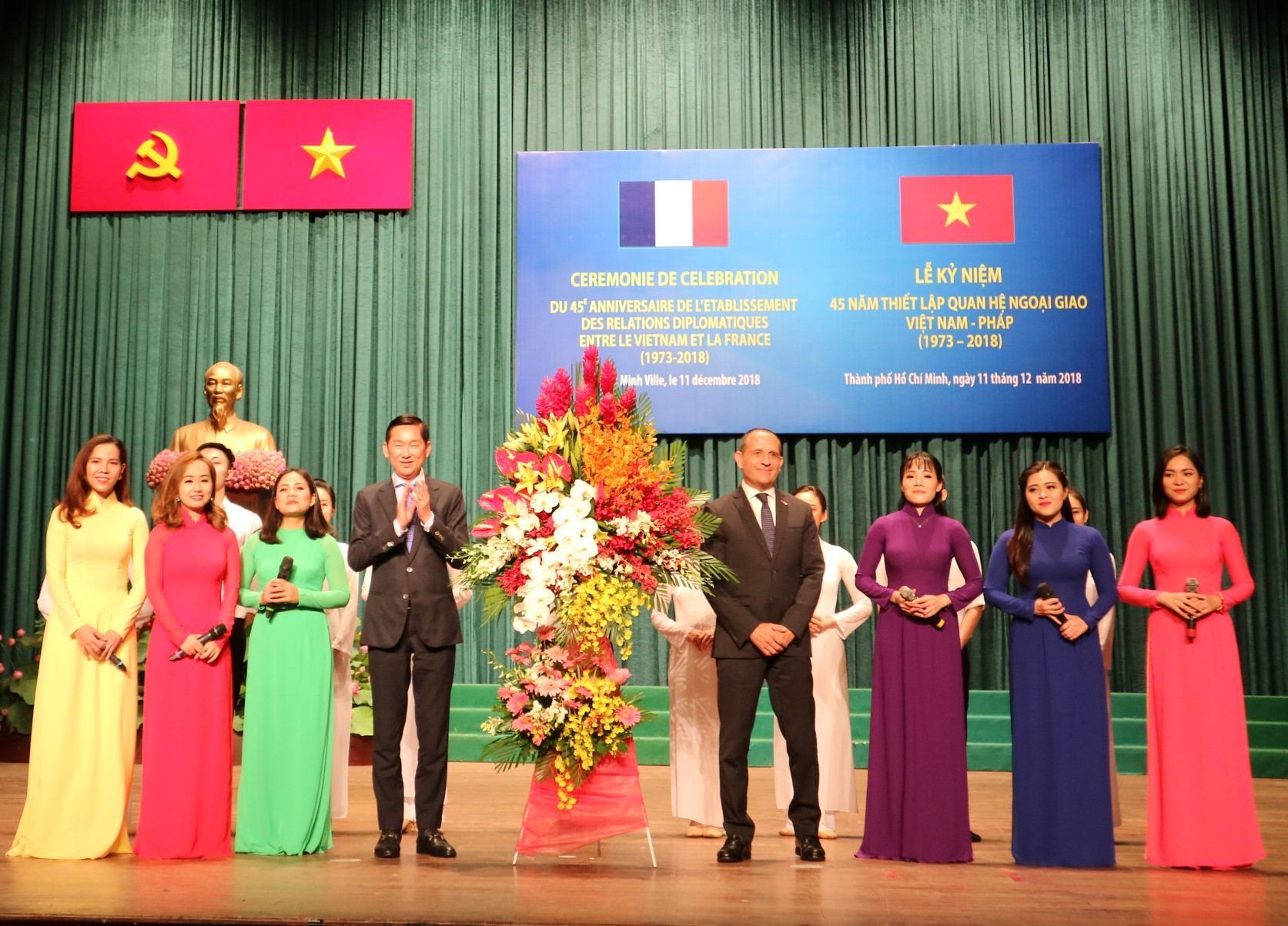 Ho Chi Minh City eager to seek closer cooperation with French areas