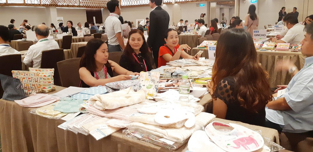 Japanese and Vietnamese firms discuss cooperation opportunities at the event 'Good Goods Japan' in Ho Chi Minh City, Vietnam, December 4, 2018. Photo: Tuoi Tre