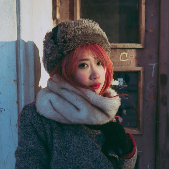 Hong Ngoc during her trip to Oymyakon village, Russia.