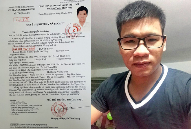 Manhunt underway for fugitive suspected of planning government coup