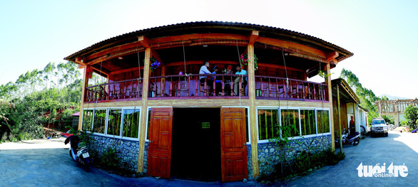 A homestay in Binh Lieu District in Quang Ninh Province in northern Vietnam. Photo: Tuoi Tre