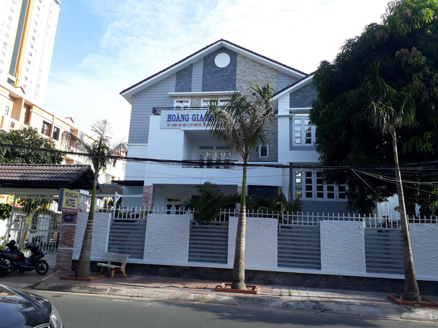 The hotel where 22 of the Chinese suspects engaged in high-tech crimes in Ba Ria-Vung Tau Province, southern Vietnam. Photo: Tuoi Tre