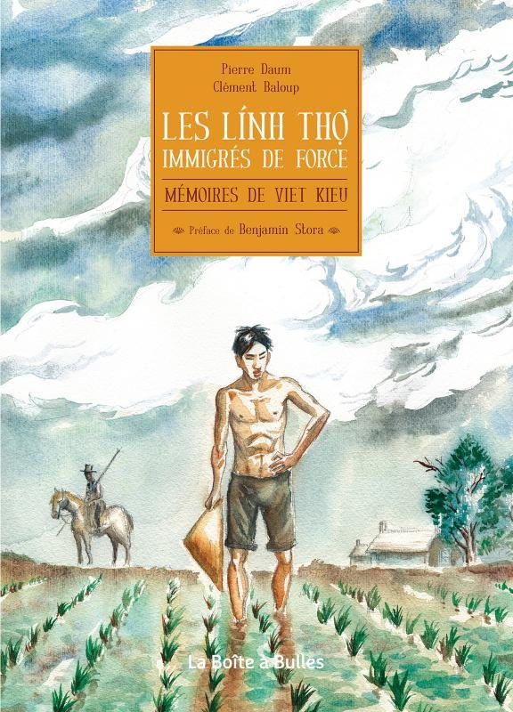The cover of Les lính thợ, immigrés de force by French journalist Pierre Daum.
