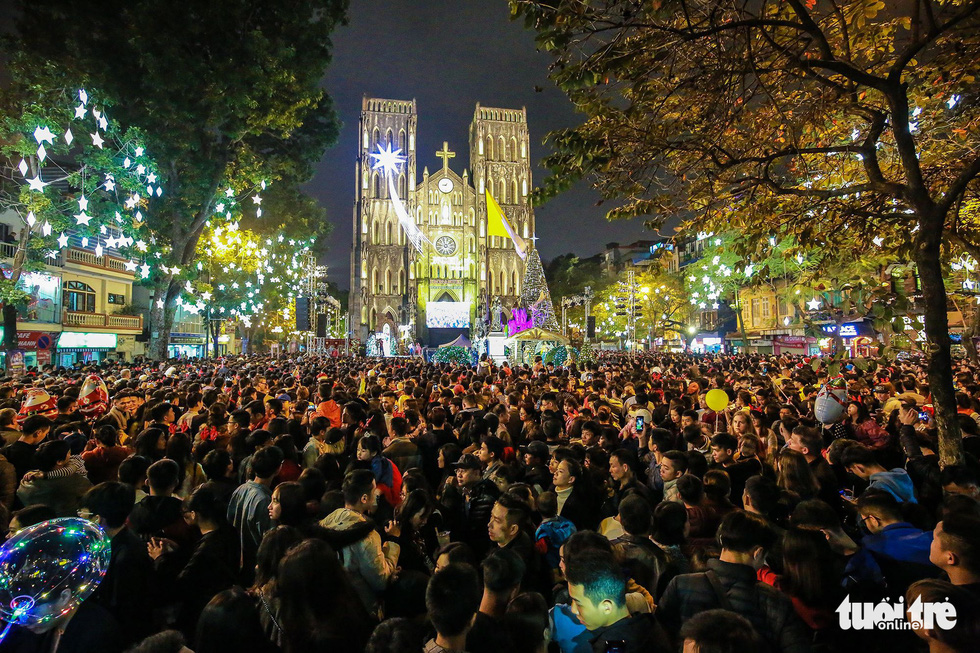 Christmas Eve celebrated nationwide in Vietnam