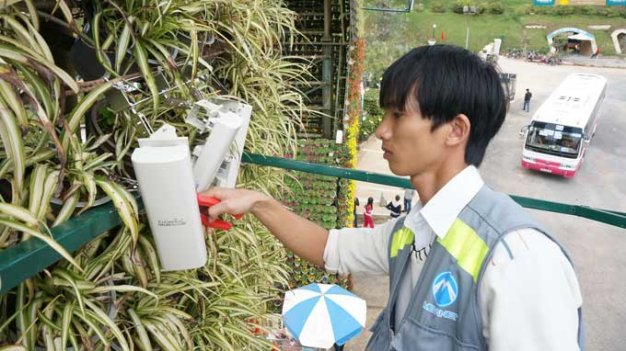 Free Wi-Fi launched in center of Da Lat