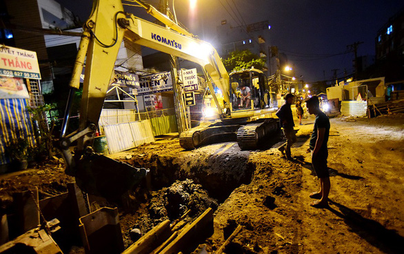 Ho Chi Minh City to enforce no-digging rule for underground roadwork on busy streets